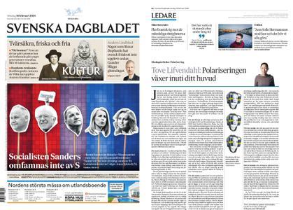 Svenska Dagbladet – 16 februari 2020