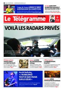 Le Télégramme Ouest Cornouaille – 05 janvier 2020