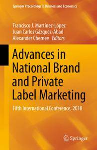 Advances in National Brand and Private Label Marketing: Fifth International Conference, 2018