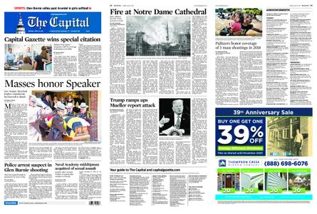 The Capital – April 16, 2019