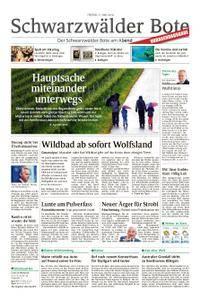 Schwarzwälder Bote Hechingen - 11. Mai 2018