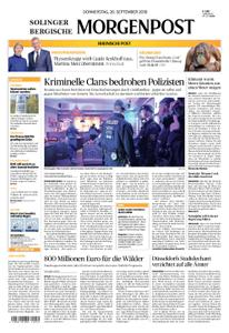 Solinger Morgenpost – 26. September 2019