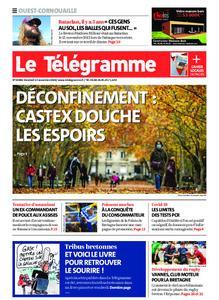 Le Télégramme Ouest Cornouaille – 13 novembre 2020