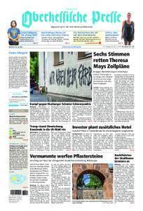 Oberhessische Presse Hinterland - 18. Juli 2018