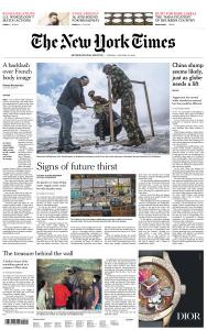 International New York Times - 22 January 2019