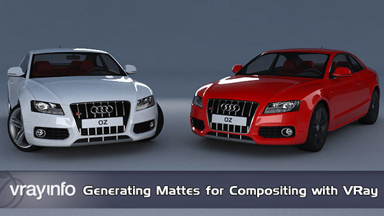 VRay.info: Generating Mattes for Compositing