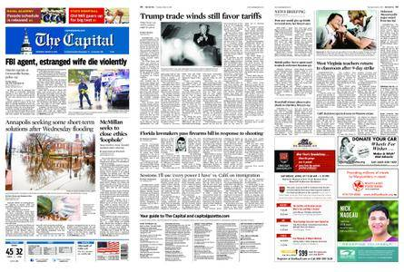 The Capital – March 08, 2018