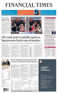 Financial Times Asia - April 28, 2020