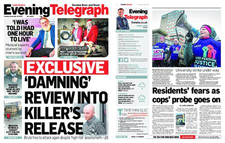 Evening Telegraph First Edition – November 26, 2019