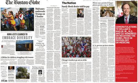The Boston Globe – October 18, 2019