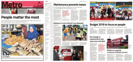The Star Malaysia - Metro South & East – 19 November 2018