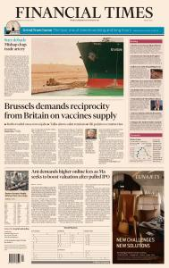 Financial Times Middle East - March 25, 2021