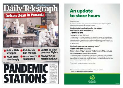 The Daily Telegraph (Sydney) – March 17, 2020