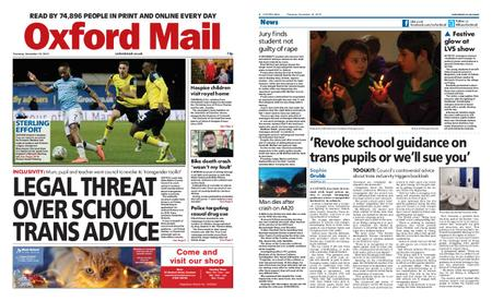 Oxford Mail – December 19, 2019