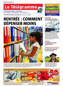 Le Télégramme Quimper – 22 août 2019
