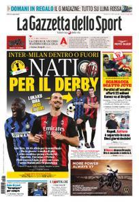 La Gazzetta dello Sport Bergamo – 26 gennaio 2021
