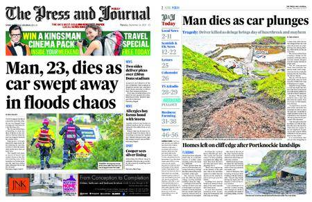 The Press and Journal Moray – September 14, 2017