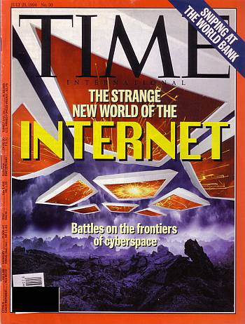 TIME Magazine, 1994 - Internet prospectives and perspectives :)