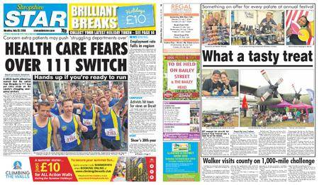 Shropshire Star Shrewsbury Edition – July 23, 2018