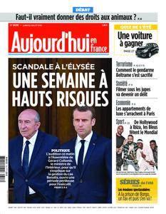 Aujourd'hui en France – 23 juillet 2018