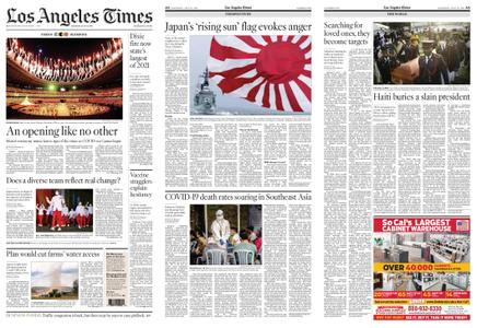 Los Angeles Times – July 24, 2021