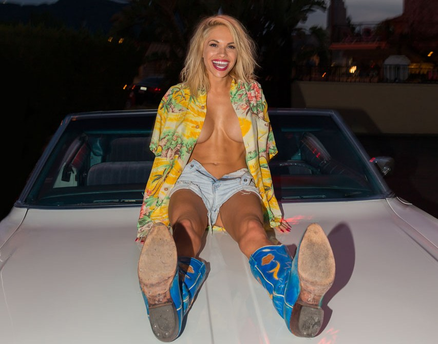 Dani Mathers - Playmate of the Year 2015 Behind The Scene & Cover Outtakes