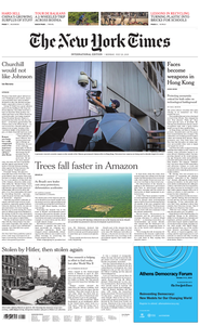 International New York Times - 29 July 2019