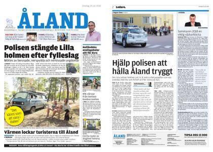 Ålandstidningen – 25 juli 2018