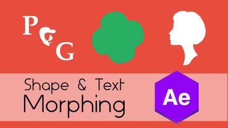 Shape & Text Morphing in Adobe After Effect