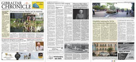 Gibraltar Chronicle – 25 July 2018