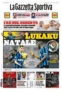 La Gazzetta dello Sport Sicilia – 22 dicembre 2019