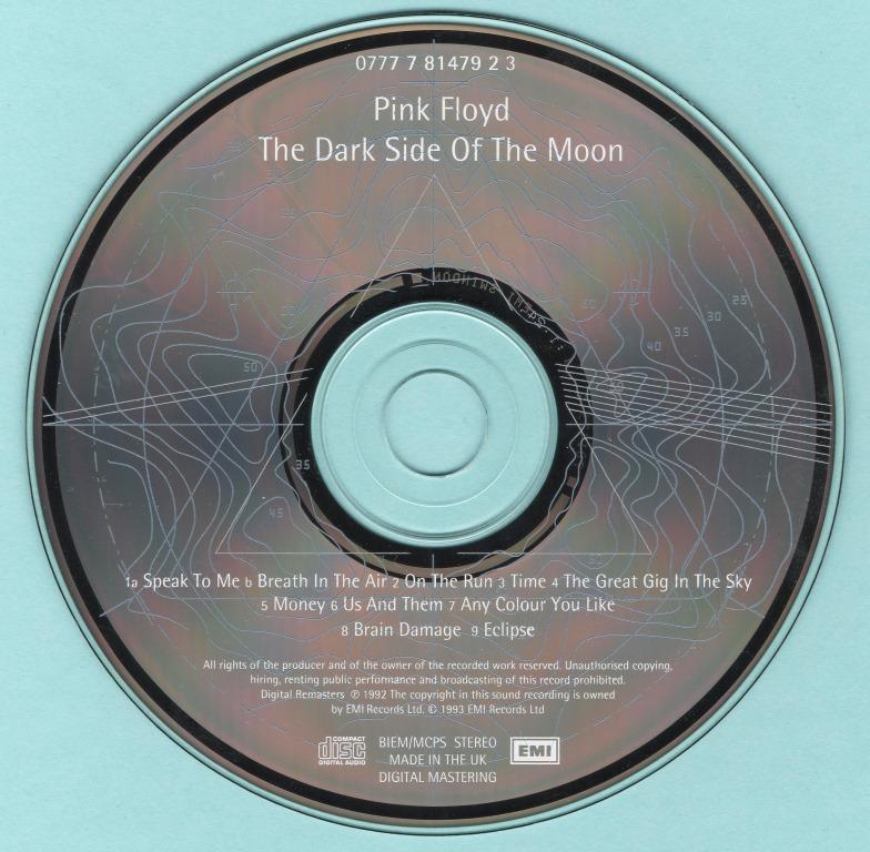 Pink Floyd - The Dark Side Of The Moon (1973) [1993, Twentieth Anniversary Edition] {Digitally Remastered} *Re-Up*