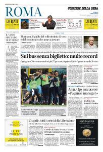 Corriere della Sera Roma – 25 aprile 2019