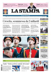 La Stampa - 25 Aprile 2019
