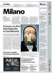 la Repubblica Milano - 5 Dicembre 2017