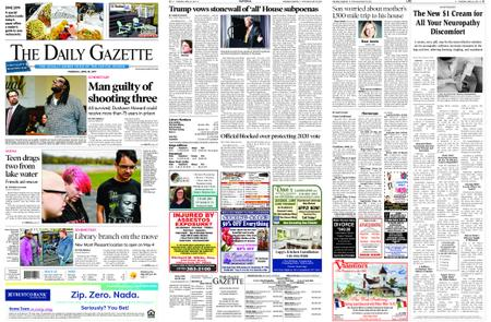 The Daily Gazette – April 25, 2019