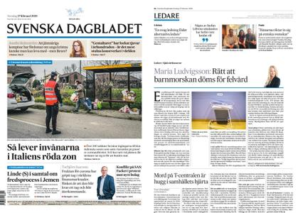 Svenska Dagbladet – 27 februari 2020