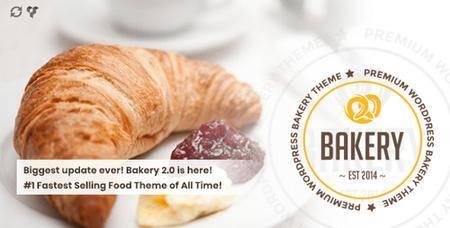 ThemeForest - Bakery v2.0 - WordPress Bakery, Cakery & Food Theme - 11112118 - NULLED