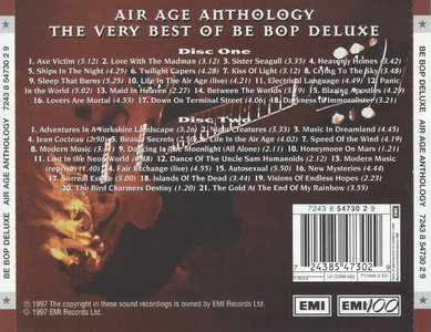 Be Bop Deluxe - Air Age Anthology (1997) [2CD] {EMI 100 Years Remaster}