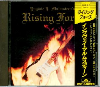 Yngwie J. Malmsteen - Rising Force (1984) {Japan 1st Press}