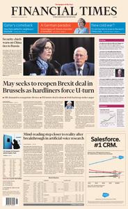 Financial Times Europe – 30 January 2019