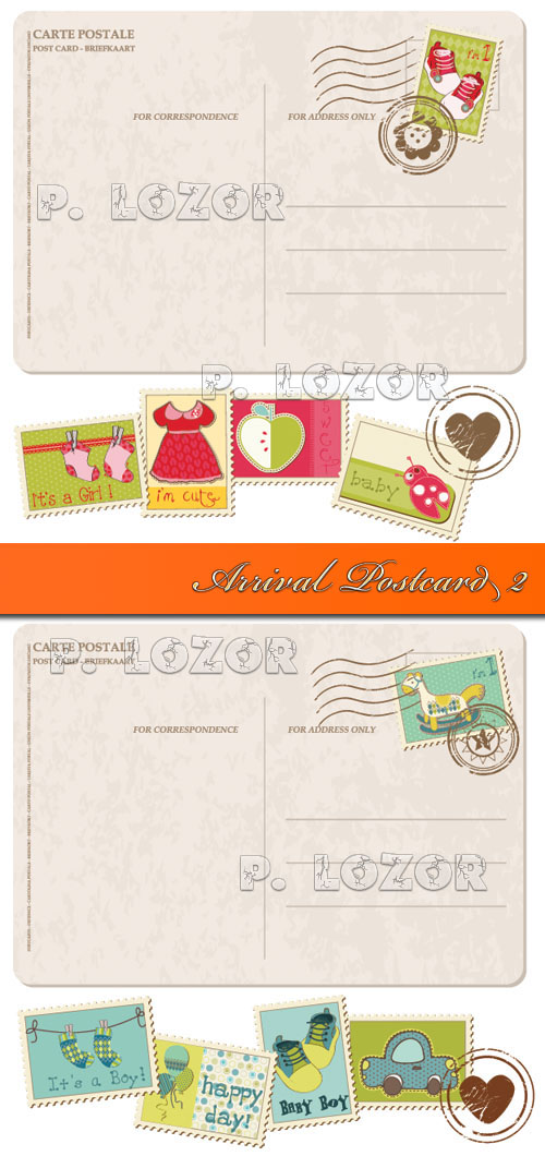 Arrival Postcard 2