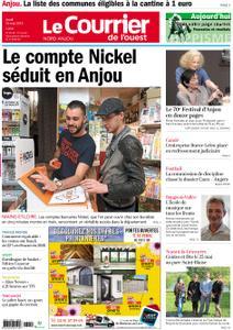 Le Courrier de l'Ouest Nord Anjou – 16 mai 2019