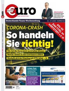 Euro am Sonntag – 21. März 2020