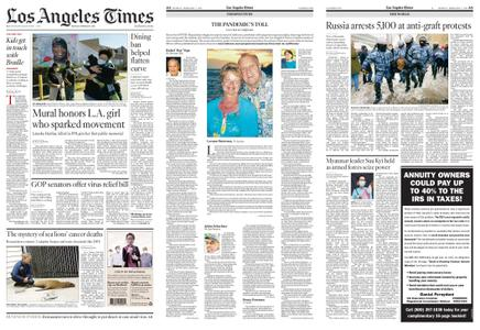 Los Angeles Times – February 01, 2021