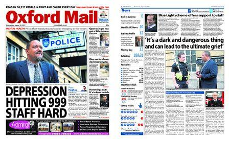 Oxford Mail – August 23, 2017