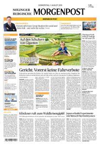 Solinger Morgenpost – 01. August 2019
