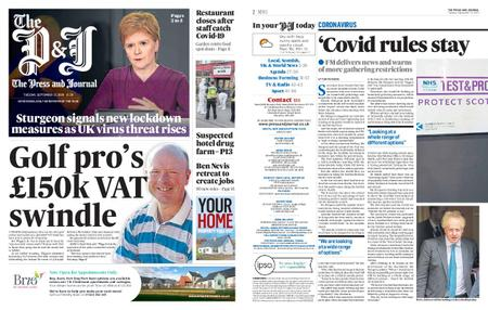 The Press and Journal Moray – September 22, 2020