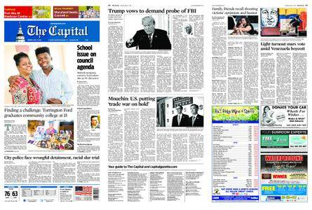 The Capital – May 21, 2018