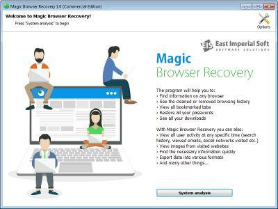 Magic Browser Recovery 1.0 Multilingual + Portable
